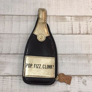 Kate spade pop fizz clink champagne coin purse